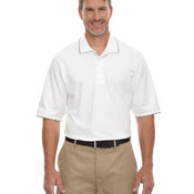 Men's Jersey Polo With Pencil Stripe