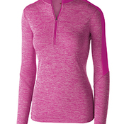 Ladies' Dry-Excel™ Electrify Performance Polyester Knit Half-Zip Training Pullover